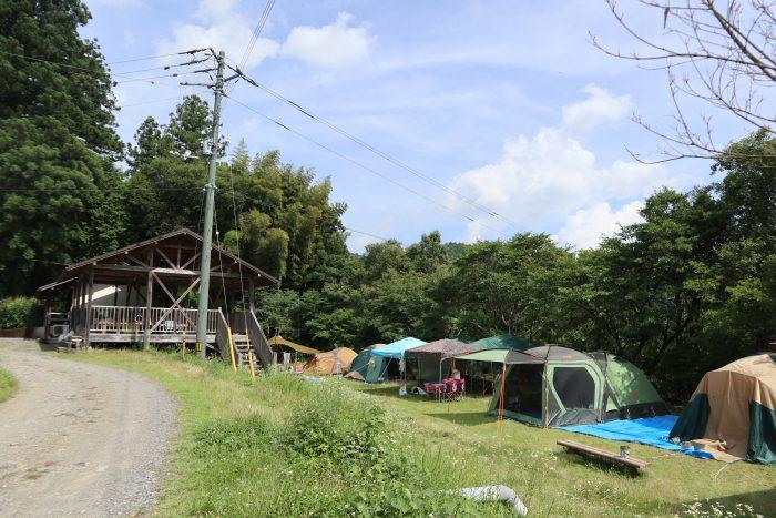 中土佐町 天満宮前キャンプ場 高知県