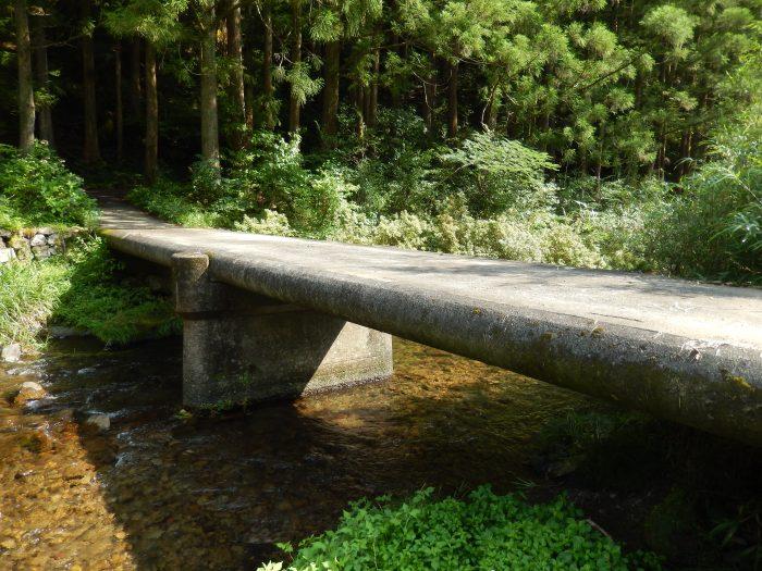 大平の沈下橋