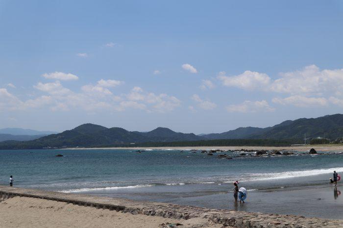 高知県西部 海水浴場 黒潮町 浮津海水浴場
