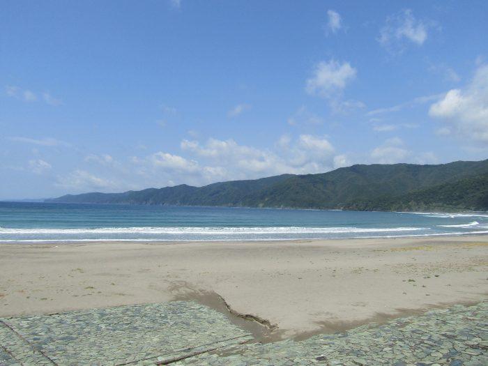 興津海水浴場 中土佐町 四万十町 高知県西部 海水浴場