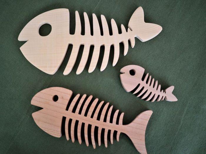 魚の鍋敷き