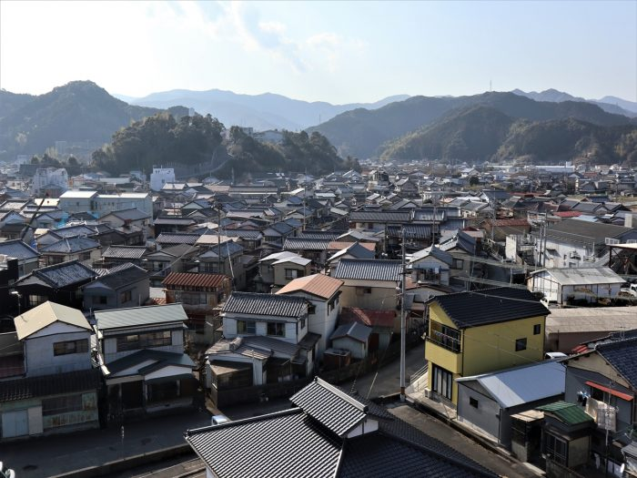 久礼の町(中島)