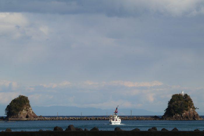 中土佐町 第二十八鳳丸 大型鰹一本釣り船