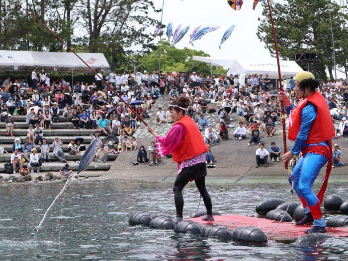 中土佐町 かつお祭 イベント かつお一本釣り競争