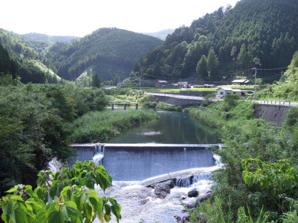 四万十川流域の文化的景観(上流域の農山村と流通・往来)