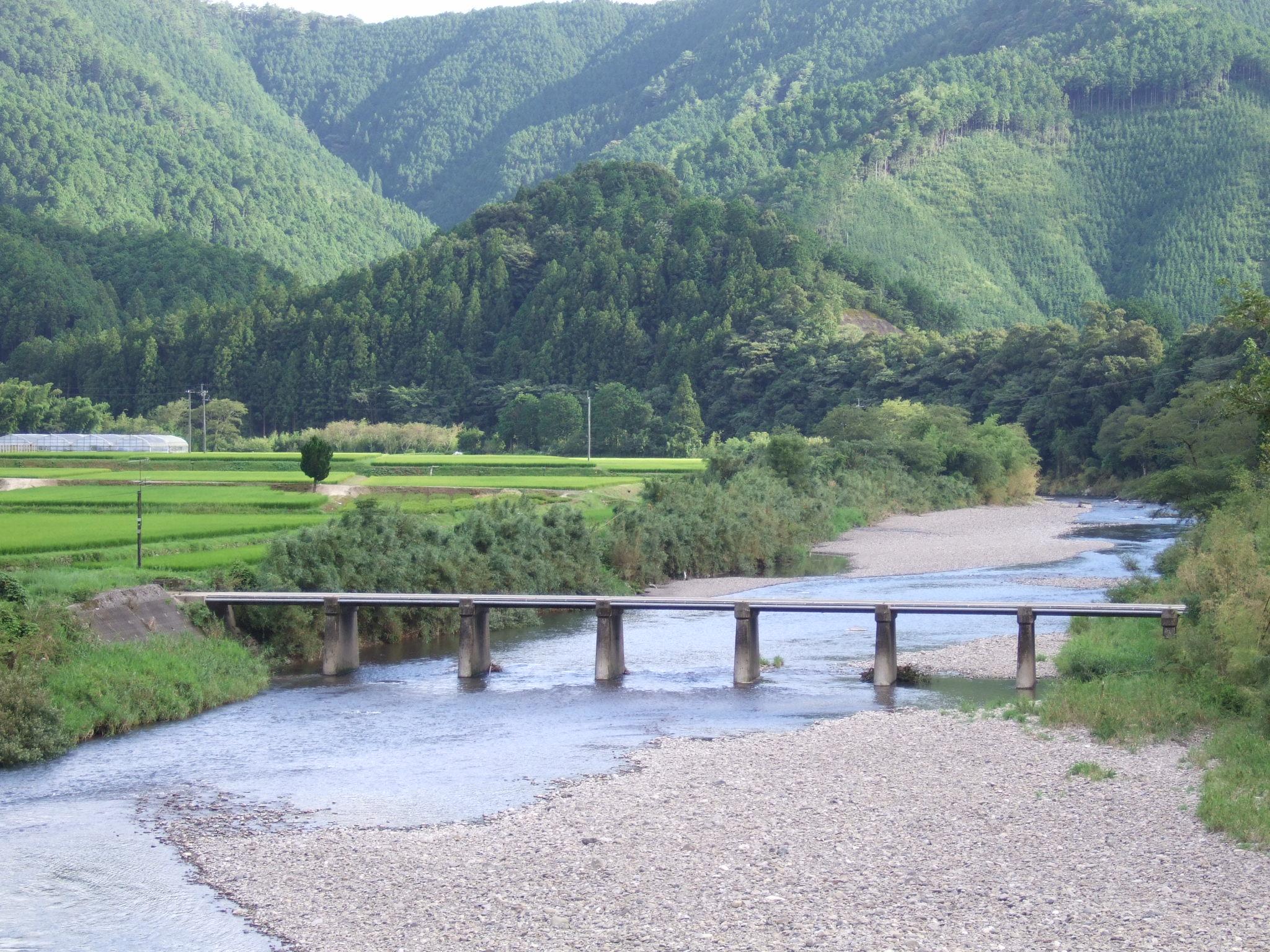 長野沈下橋